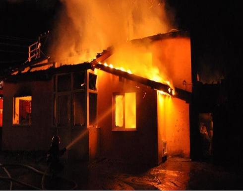 وفاة شخصين إثر حريق منزل في محافظة جرش