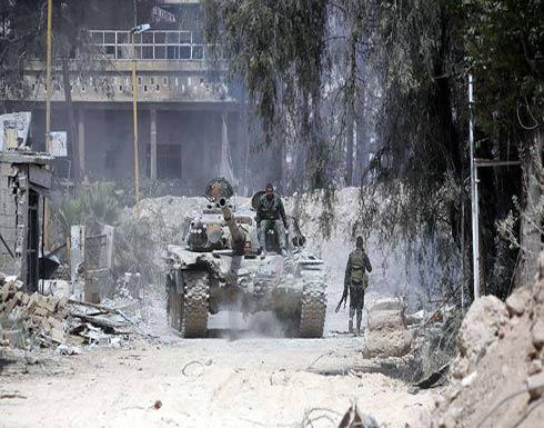 الدفاع الروسية: العثور على 1.5 طن من المتفجرات داخل مخابئ جيش الإسلام في دوما