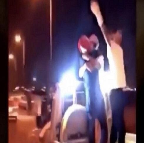 """القبض على شابين سعوديين قاما بممارسات """"شاذة"""" في الرياض- (فيديو)"""
