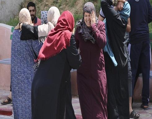 56 شهيدا بالعدوان الإسرائيلي على غزة بينهم 14 طفلاً
