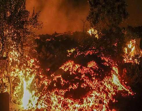 شاهد : مصرع 13 شخصا بعد ثوران بركان غوما بالكونغو