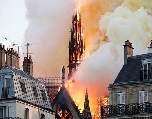 """مشهد سينمائي تنبأ باختفاء كاتدرائية """"نوتردام"""" الفرنسية (فيديو وصور)"""