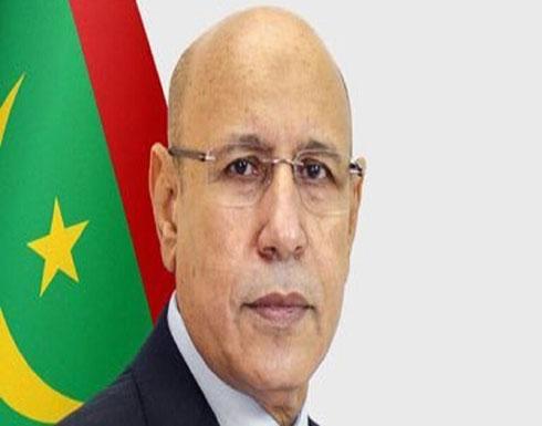 الرئيس الموريتاني يدعو المنقبين عن الذهب لالتزام إجراءات الأمان