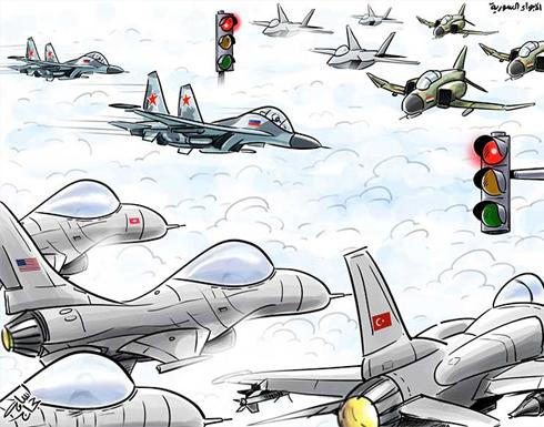 الأجواء السورية