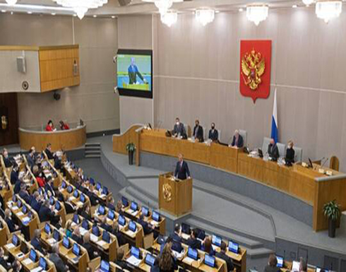 """بوتين يحيل إلى مجلس الدوما مشروع القانون حول تمديد """"ستارت-3"""""""
