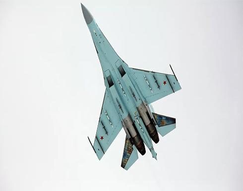 """الدفاع الروسية: مقاتلتان روسيتان من طراز """"سو-27"""" تعترضان قاذفة أمريكية فوق بحر البلطيق"""