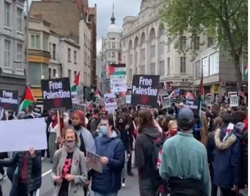 لندن تنتصر للقدس.. مئات الآلاف ينتفضون ضد الاحتلال