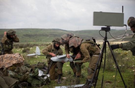 سقوط طائرة بدون طيار للاحتلال الإسرائيلي بالضفة الغربية