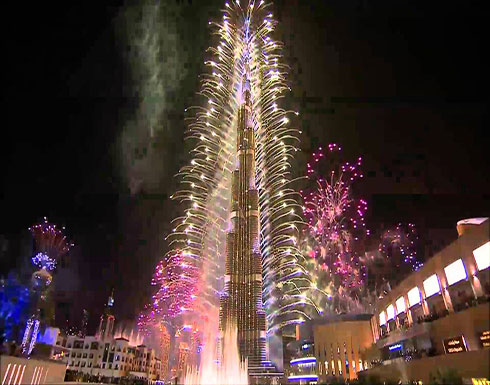 شاهد : احتفالات العالم بسنة 2020