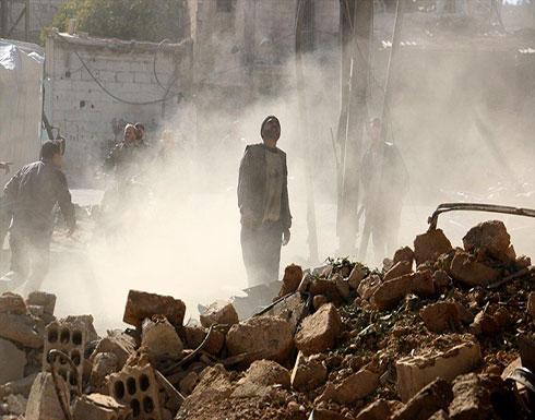 مقتل 20 مدنياً في غارات متواصلة لنظام الأسد على غوطة دمشق