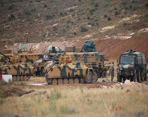 تركيا ترسل تعزيزات عسكرية إضافية إلى الحدود مع سوريا