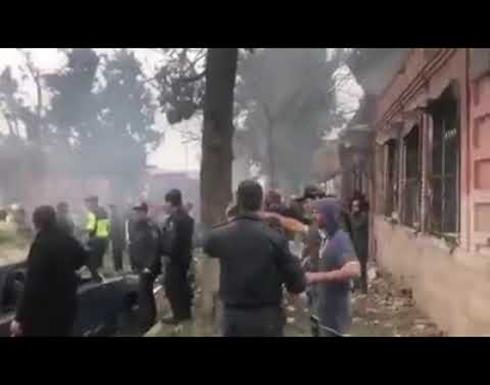 شاهد : مقتل 22 شخصا وإصابة 74 في مدينة غنجة الاذرية بقصف الجيش الارميني