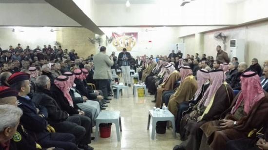 بالصور: صلحة عشائرية بين السلطية و الطفايلة إثر مشاجرة الجامعة الاردنية