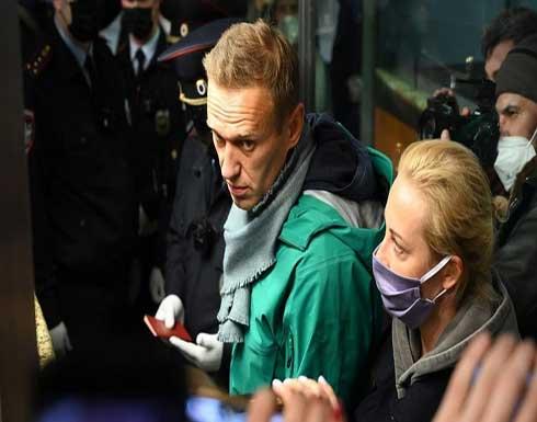 """فرنسا """"قلقة"""" على الوضع الصحي للمعارض الروسي نافالني"""