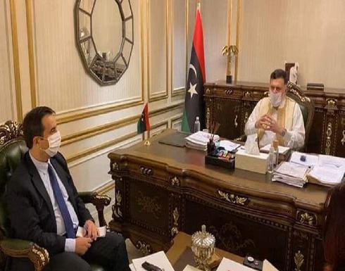 رئيس المجلس الرئاسي يستقبل سفير تركيا لدى ليبيا