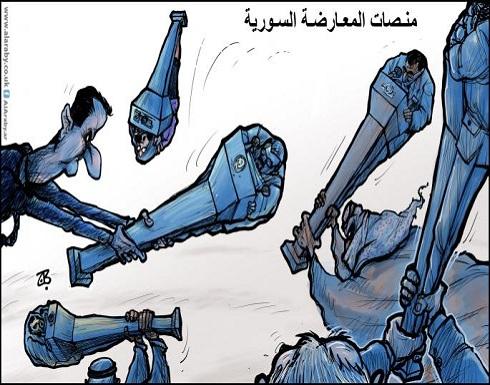 منصات المعارضة السورية