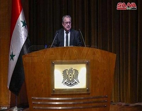الرئيس السوري يكلف عرنوس بتشكيل الحكومة