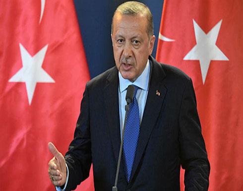 أردوغان: لا يمكن إقامة أي مشروع شرق المتوسط يتجاهل تركيا وسنواصل أنشطتنا بالمنطقة