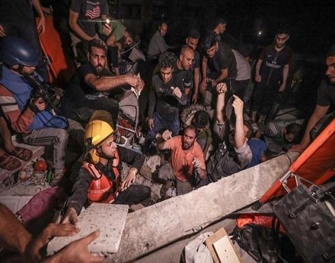 مجزرة بغزة.. 16 شهيدا من عائلة واحدة والحصيلة تتجاوز 180