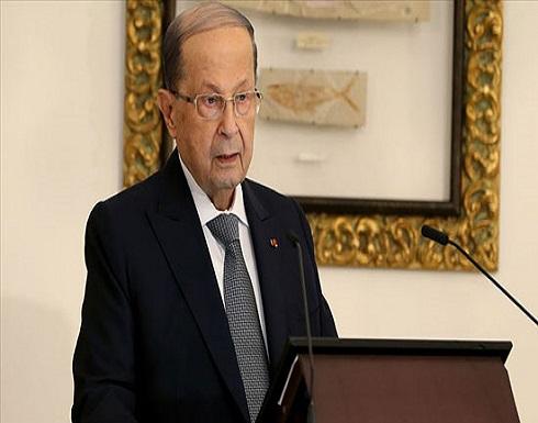 عون يطالب بوقف غارات الاحتلال على سوريا عبر أجواء لبنان (شاهد)