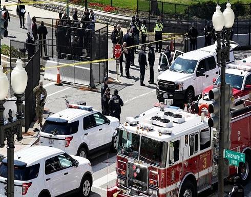 لحظة اقتحام مبنى الكونغرس ومقتل المهاجم .. بالفيديو