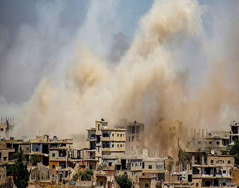 سوريا.. النظام يصعّد قصفه على أحياء مدينة درعا المحاصرة جنوبا وروسيا تشن غارات على عفرين شمالا