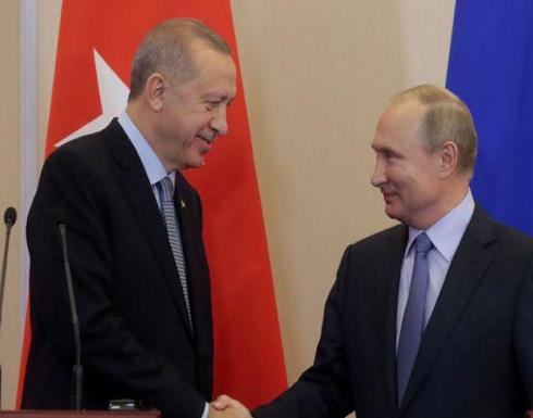 الكرملين: بوتين وأردوغان بحثا الصراع في محافظة إدلب السورية
