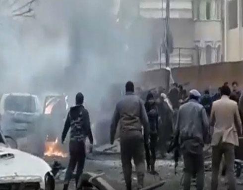 حلب.. قتلى بانفجار سيارة مفخخة في أعزاز