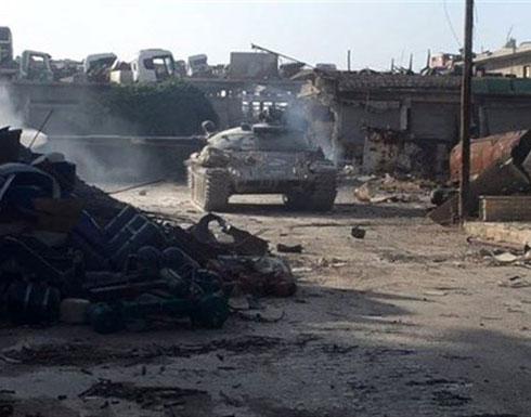 النظام السوري يستعيد مواقعه جنوبي حلب ويحاصر المدينة