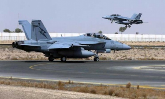 أستراليا تعلق مشاركتها الجوية في سوريا