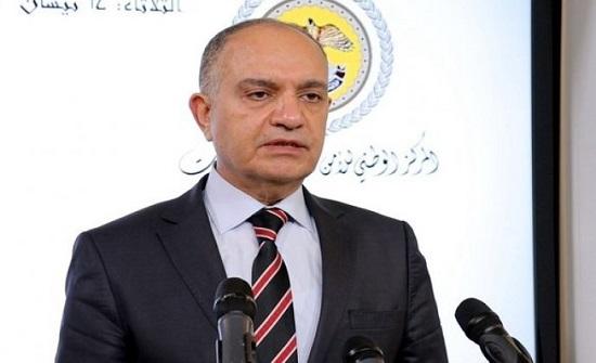 """""""العضايلة"""" ينفي وصول طائرة خاصة لنواب عراقيين مصابين بكورونا"""