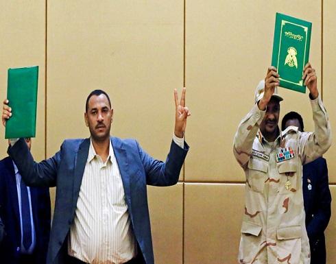 حزب البشير ينتقد الإعلان الدستوري في السودان