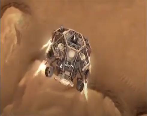 """فيديو توضيحي يظهر لحظات هبوط مركبة ناسا """"المثابرة"""" على سطح المريخ .. شاهد"""