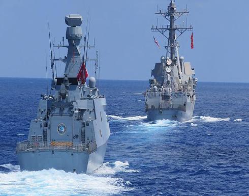 تركيا تعلن أنها أجرت تدريبات عسكرية الأربعاء مع البحرية الأميركية