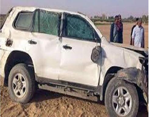 شاهد :  حادث بشع .. سيارة تصدم شابًا وطفلاً وقائدها يفر هاربًا في مصر