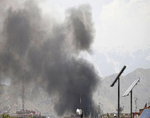 بالفيديو :9 جرحى بانفجار سيارة مفخخة استهدفت مكتب منظمة إغاثة دولية في كابل