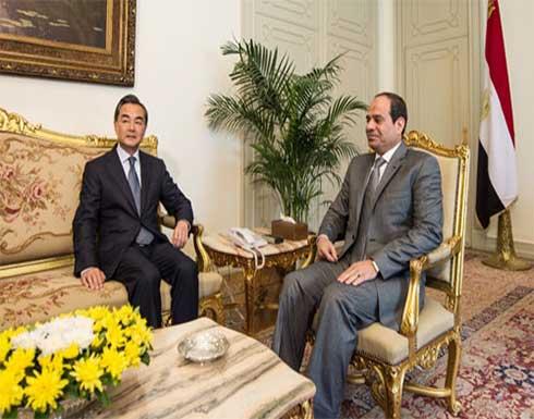 وزير خارجية الصين للسيسي: نتفهم الأهمية القصوى لنهر النيل بالنسبة لمصر