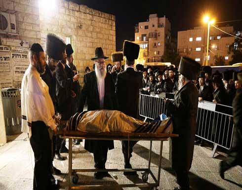 شاهد : اللحظات الأولى لحادث التدافع في إسرائيل