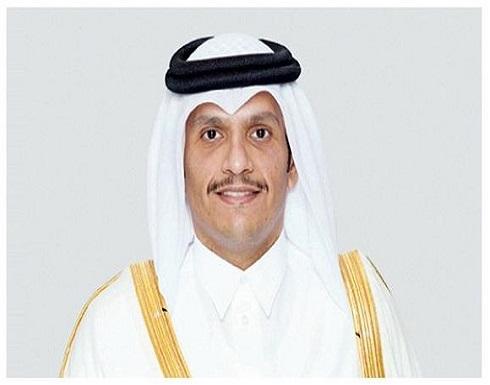 وزير الخارجية القطري يبحث من نظيره الأمريكي علاقات التعاون وتطورات المنطقة
