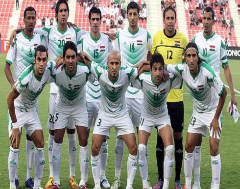 الفريق الوطني العراقي لكرة القدم يصل إلى الضفة الغربية لمباراة ودية مع نظيره الفلسطيني
