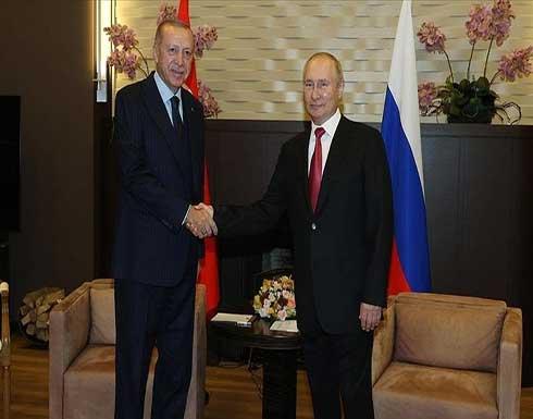 قمة سوتشي.. أردوغان: السلام في سوريا مرتبط بالعلاقات بين تركيا وروسيا