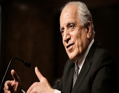 """خليل زاد: طالبان تريد """"حصة الأسد"""" من السلطة في اتفاق السلام"""