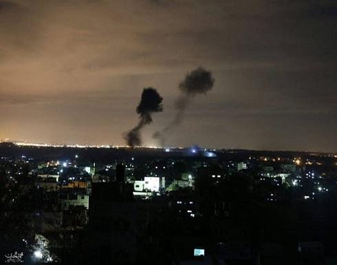 الاحتلال يقصف مواقع للمقاومة في غزة.. والأخيرة ترد (شاهد)