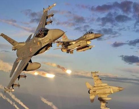 مقاتلات تركية تقصف 12 موقعًا لتنظيم الدولة في سوريا