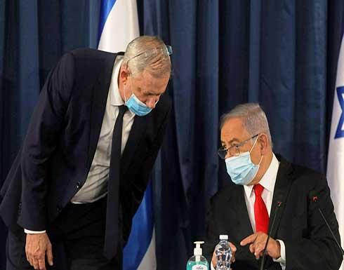 نتنياهو وغانتس : العملية العسكرية ستستغرق بضعة أيام أخرى