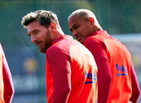 برشلونة يُعول على رغبة ميسي في العودة بعد الإصابة