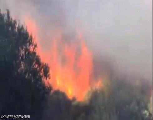 شاهد : حرائق جديدة في لبنان تلتهم مساحات خضراء وسط اتهام السلطات بالعجز