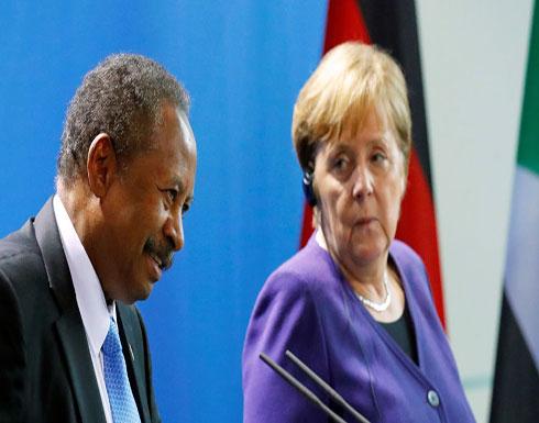 """حمدوك أمام ميركل: ما حدث في السودان يشبه """"هدم جدار برلين"""""""
