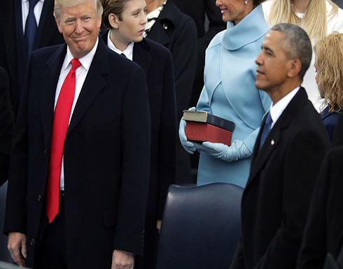 ترامب يهاجم أوباما ويتهمه بالخيانة العظمى