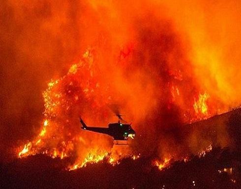 كاليفورنيا : حفل أعلان جنس المولود تسبب بحرق المنطقة!